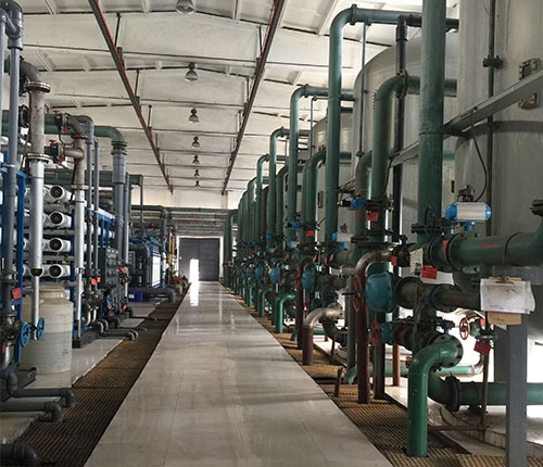 Water treatment equipment field