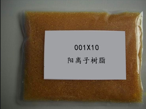 001×10 strongly acidic styrene cation exchange resin